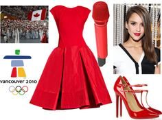 """""""olympic"""" by beatriz-andrino ❤ liked on Polyvore"""
