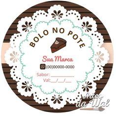 Logo Doce, Cake Illustration, Batman Wallpaper, Anna, Logo Sticker, Printable Paper, Mini Cakes, Hang Tags, Cake Decorating