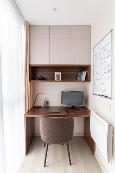 Study Room Design, Small Room Design, Home Room Design, Interior Design Living Room, Home Office Furniture Design, Home Office Design, Home Office Decor, Home Decor, Apartment Balcony Decorating