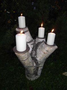 Einzelstücke für Weihnachten Advent Deko Kerzen Handarbeit