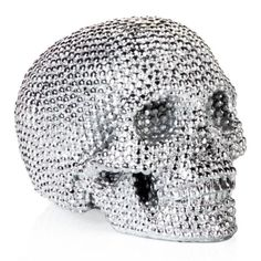 Metallic Skull from Z Gallerie