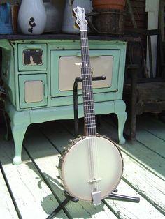 c.1890 Lyon & Healy 5-String Banjo