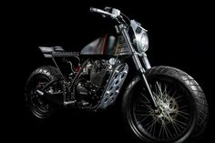 The Legend Honda CB100 b y Smoked Garage in Bali, Indonesia ~ Read more on Return of the Cafe Racers