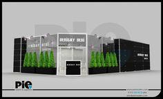 İDF Fuarı ''DERİSAY DERİ'' Stand Tasarımımız