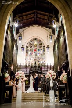Hundreds of roses provided a grand flower backdrop for the bride and groom, crawling vines poured over tables and even the cake featured. Church Ceremony, Event Company, Flower Backdrop, Bridesmaid Dresses, Wedding Dresses, Bat Mitzvah, Event Decor, Corporate Events, Event Design