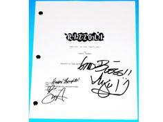 """Rizzoli Isles Signed Pilot Script TV Autograph """"See One, Do One, Teach One"""" Angie Harmon & Sasha Alexander"""