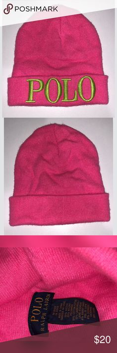 Polo Ralph Lauren Hat Polo Ralph Lauren beanie -  gently loved - in great shape - worn once or twice and then stored Polo by Ralph Lauren Accessories Hats