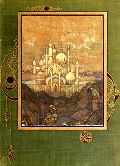 'Stories from the Arabian nights' drawings by Edmund Dulac