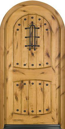 Superlative Grey Fiberglass Front Door Design Featuring Two . Wood Entry Doors, Rustic Doors, Wooden Doors, Barn Doors, Patio Doors, Entrance Doors, Custom Exterior Doors, Wood Exterior Door, Knotty Alder Doors