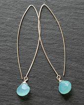 Handmade Thread Hoop Earrings
