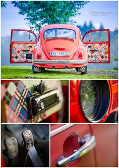 Patchwork Volkswagen Beetle. This is the cutest thing ever...