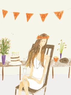 AUGUST 2014 HOROSCOPE - Emirates Woman. Illustration by Kirsten Sims.