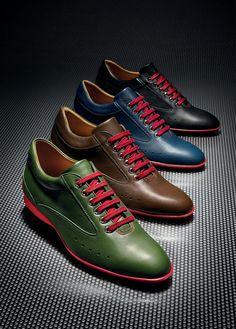 Aston Martin x John Lobb - Driving Shoes Aston Martin, Sharp Dressed Man, Well Dressed Men, Martin Shoes, Men Dress, Dress Shoes, Mode Man, Driving Shoes, Men S Shoes
