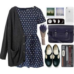 outfit of the day 4 by nurshirinnabihah on Polyvore featuring Jack Wills, Monki, The Cambridge Satchel Company and Polaroid