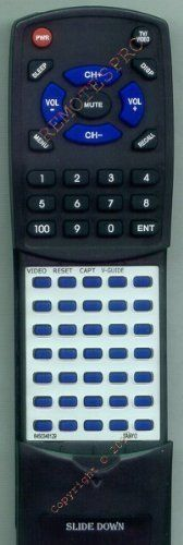 SANYO Replacement Remote Control for 6450348129, DS31590, DS35590, FXRB by Redi-Remote. $45.99. This is a custom built replacement remote made by Redi Remote for the SANYO remote control number 6450348129. *This is NOT an original  remote control. It is a custom replacement remote made by Redi-Remote*  This remote control is specifically designed to be compatible with the following models of SANYO units:   6450348129, DS31590, DS35590, FXRB  *If you have any concerns with the r...