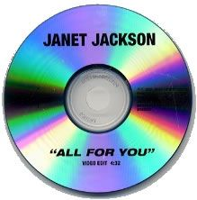 For Sale - Janet Jackson All For You - Video Edit 4:32s USA Promo  CD-R acetate - See this and 250,000 other rare & vintage vinyl records, singles, LPs & CDs at http://991.com