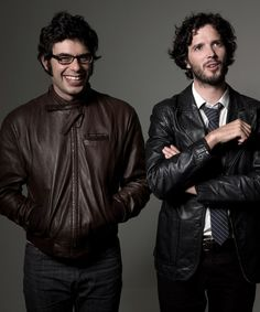 Brett & Jemaine AKA Flight of the Conchords