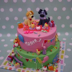 Woezel en pip taart feestje