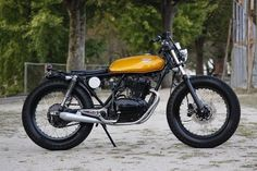 Honda CB250 Build By Heiwa