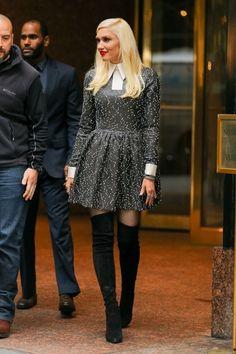 Gwen Stefani Photos - Celebrities Stop by 'Good Morning America' - Zimbio