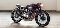 Custom Honda CB550K by KickMoto - Bikers Cafe