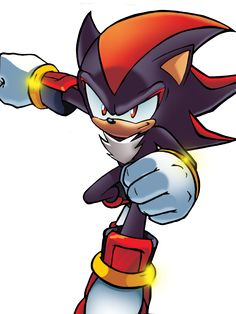 Shadow the Hedgehog... Wow... This is cool-looking!