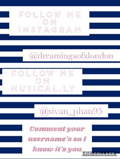 Please follow me