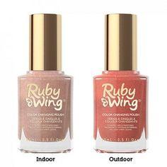Ruby Wing Bonfire Color Changing Nail Polish