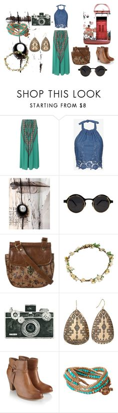 """""""Spring Free #5"""" by sratukula ❤ liked on Polyvore featuring ViX, Miguelina, Sam Edelman, Miss Selfridge, Bundle MacLaren Millinery, WALL, Monsoon, Humble Chic, travel and relax"""