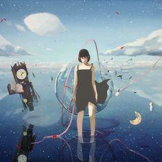 Painting of Yukihiro Nakamura Web Anime Chibi, Character Illustration, Photo Illustration, Anime Places, Anime Scenery, Anime Artwork, Food Illustrations, Image Boards, Hobbit