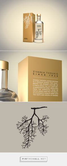 Zivania Thoukis Limited Edition -Packaging of the World - Creative Package Design Gallery - http://www.packagingoftheworld.com/2016/10/zivania-thoukis-limited-edition.html