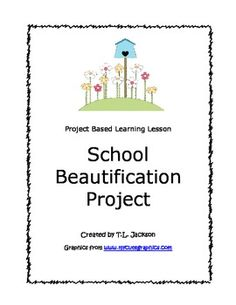 Project Based Learning. Lesson Plan.