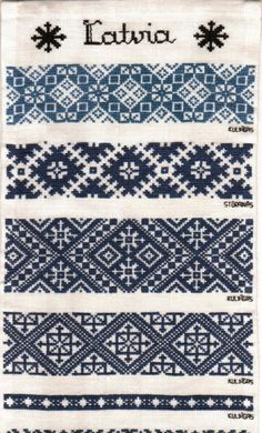 Latvian Folk Embroidery