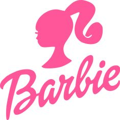 Pink Barbie Logo Iron On T Shirt Transfer White/Light Fabrics 2 Mattel Barbie, Barbie Girl, Barbie Y Ken, Free Barbie, Barbie Style, Barbie House, Barbie Dolls, Pink Barbie, Barbie Fashionista