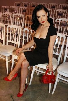 Dita Von Teese Costumes and Costume Ideas. Pin up girl clothing from the 1930's, 1940's and 1950's as well as hair and makeup tutorials.