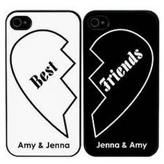 Best Friends Personalized iPhone Cases