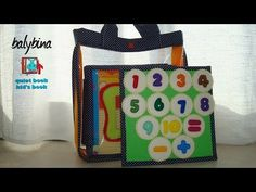 """Quiet Book #11 """"Learn to count"""" 