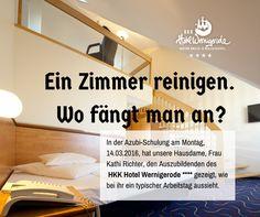 Zimmercheck. Ausbildung Schulung im HKK Hotel Wernigerode ****