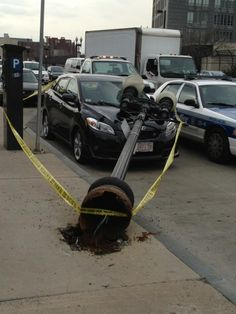 This Boston Driver Is Having the Worst Day Ever
