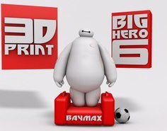 Pin BIG HERO 6 - BAYMAX 3D Printing 20373