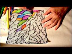 doodle painting coloring page aquarell pencil Mandala Art Lesson, Mandala Painting, Art Drawings Beautiful, Cool Art Drawings, Doodle Paint, Zentangle Drawings, Sharpie Art, Mandala Dots, Happy Paintings