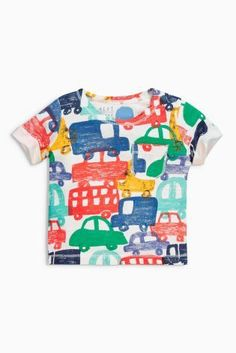 Buy Multi Short Sleeve T-Shirts Three Pack (0mths-2yrs) online today at Next: United States of America