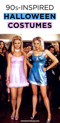 14 '90s-inspired Halloween costume ideas you'll love--from Daria to Romy and Michele's High School Reunion to Clarissa Explains It All.