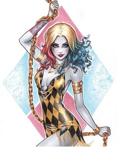 Date Night Harley Quinn commission from done with and metallic gold paint. This one was sooo fun to work on! Comic Art, Comic Books Art, Gotham Girls, Marvel Girls, Joker And Harley Quinn, Harley Quinn Tattoo, Harly Quinn Drawing, Geeks, Costume Ideas