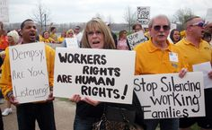 Missouri unions fight right-to-work legislation