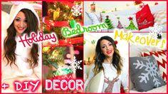 Niki and Gabi's Holiday Room Makeovers + Easy.Cheap DIY Decor!