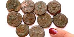 'A discovery like this—ancient coins bearing the words 'Freedom' and 'Redemption'—found right before the Jewish Festival of Freedom, Passover, begins, is incredibly moving,' said archaeologist, Dr. Eilat Mazar.