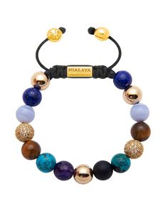 Beaded Gold Bracelet For Womens