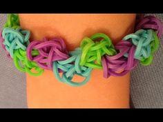 Zickzack Armband von Linda (Rainbow Loom - Anleitung deutsch) - YouTube