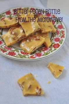 microwave pecan brittle!  VERDICT: Didn't work so great. Needed to add a bit of water to the sugar/corn syrup stage. Sugar needs to cook much longer to reach soft crack stage.